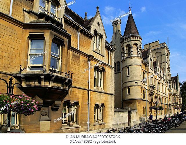 Balliol College, University of Oxford, England, UK
