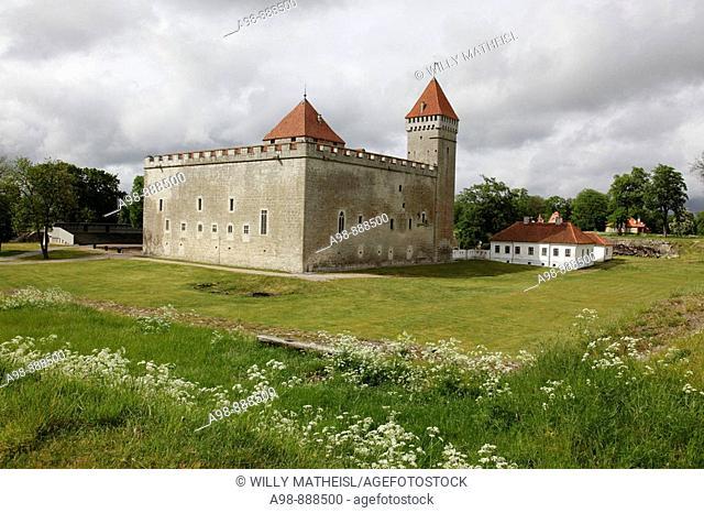 Kuressare castle Saaremaa island Estonia, Baltic State, Eastern Europe. Photo by Willy Matheisl