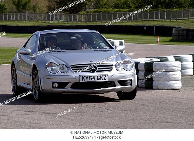2004 Mercedes Benz 600 SLV12 Artist: Unknown