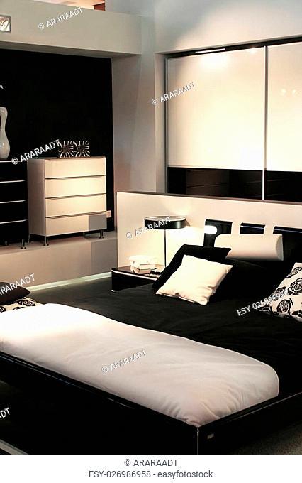 design of modern sleeping room