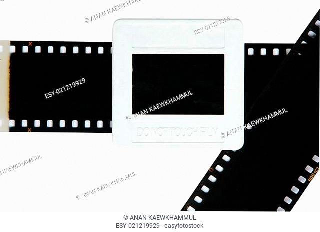 slide film isolated