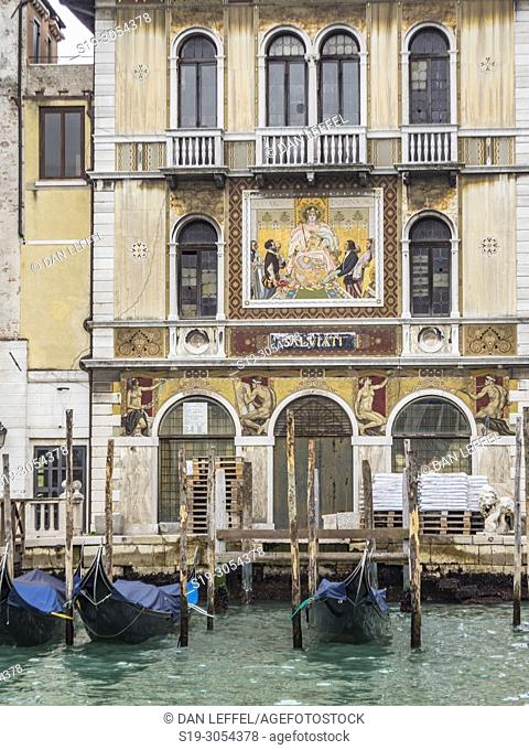 Grand Canal, Architecture, Venice, Italy