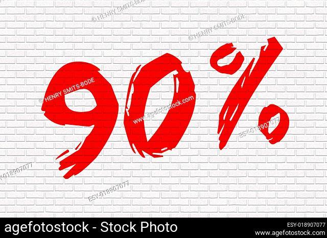 Mauer weiss 90%