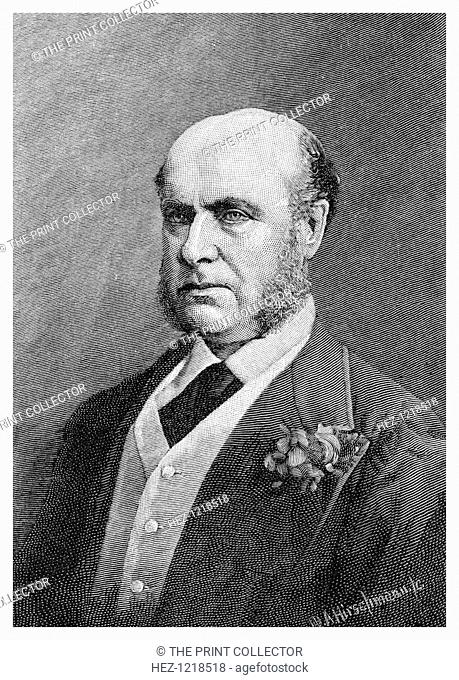 Sir Hercules Robinson, British colonial administrator (1886). Robinson (1824-1897) served as Governor of New South Wales from 1872-1879 having previously been...