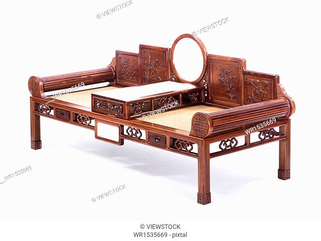 Antique Chinese couch