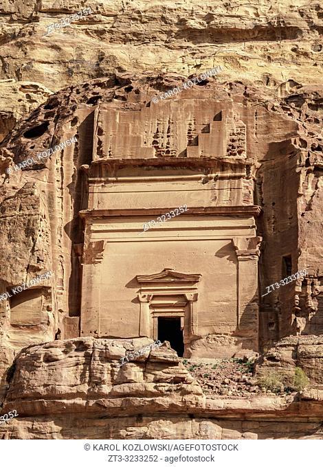 Tomb in Petra, Ma'an Governorate, Jordan