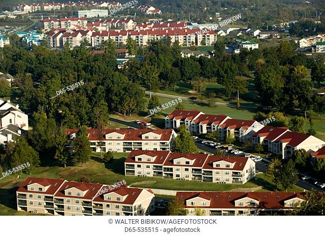 Country Music Mecca of the Midwest. Condos by Lake Taneycomo. Branson. Missouri. USA