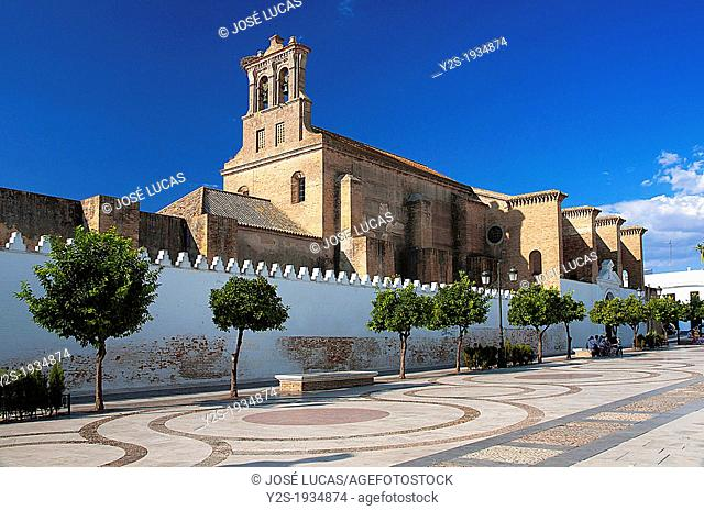 Convent of Santa Clara -14th century, Moguer, Huelva-province, Region of Andalusia, Spain
