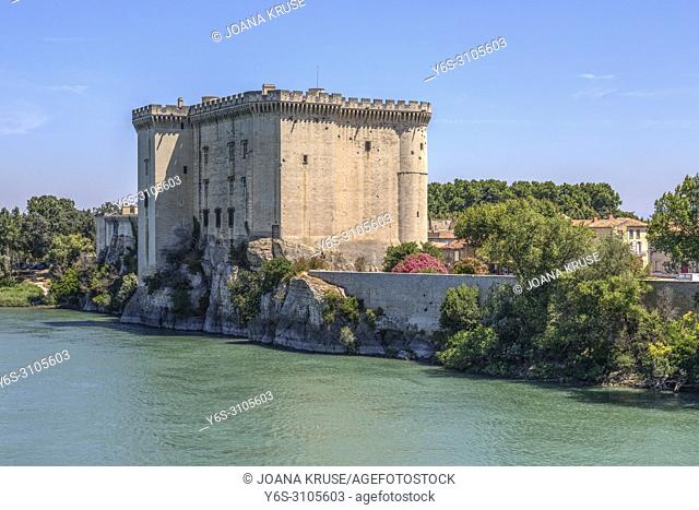 Chateau de Tarascon, Tarascon, Bouches-du-Rhone, Provence, France