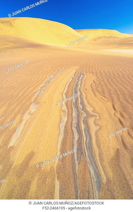 Sand Dunes, Swakopmund, Namibia, Africa