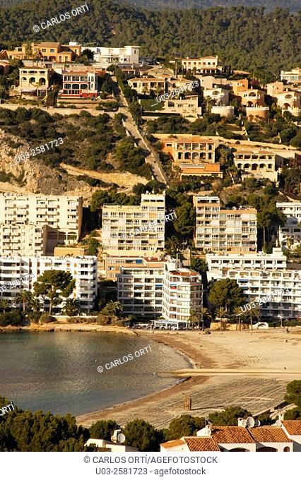 Small beach of Santa Ponça, Calvià, Mallorca, Spain