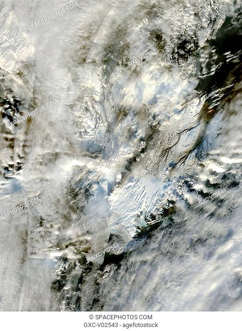Ash plume from Grimsvotn Volcano, Iceland
