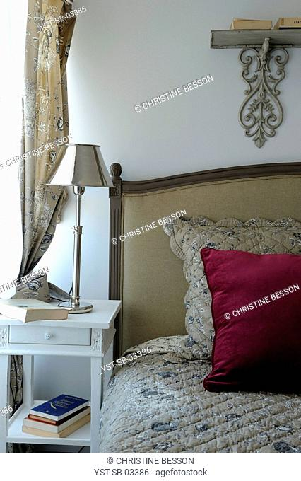 Bedroom, house, seashore, island, La Flotte, Ile de Ré, France