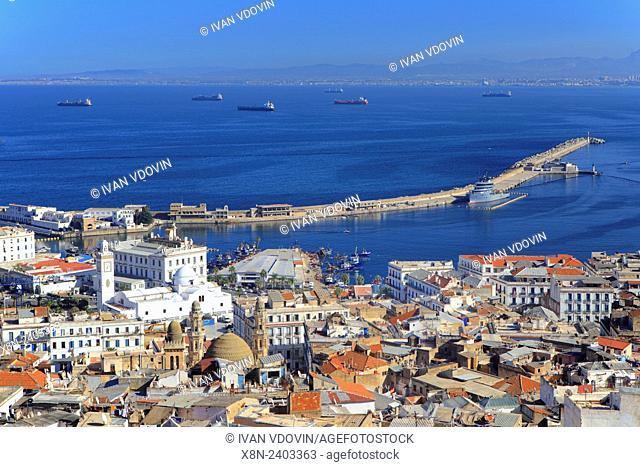 Cityscape of Algiers, Algiers Province, Algeria