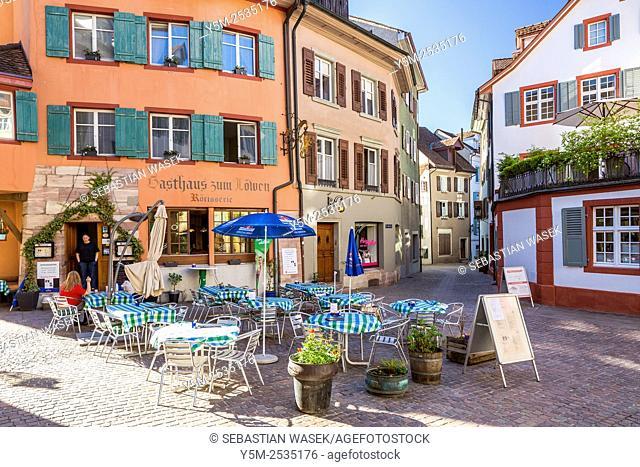 Medieval Old Town, Rheinfelden, Canton Aargau, Switzerland