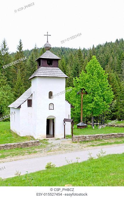 Kysuce village, Vychylovka, Slovakia