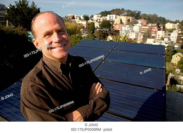 Residential installation of solar panels