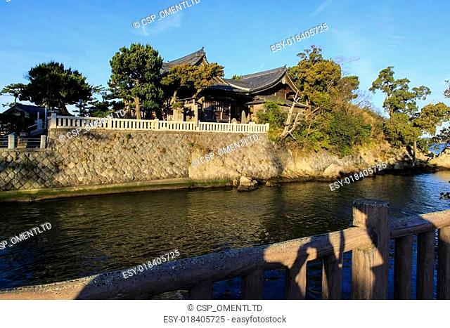 Japanese House on a Canal