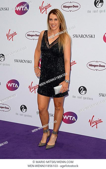 The WTA Pre-Wimbledon Party held at The Roof Gardens Featuring: Olga Savchuk Where: London, United Kingdom When: 29 Jun 2017 Credit: Mario Mitsis/WENN