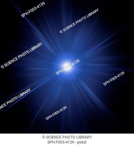 Big Bang, conceptual computer artwork