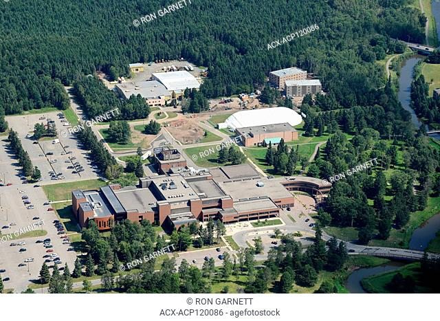 aerial, Confederation College, Thunder Bay, Ontario