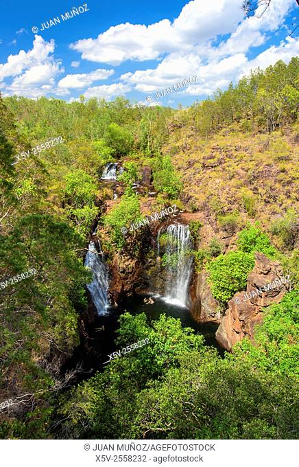Florence Falls. Litchfield National Park. Northern Territory. Australia. Oceania