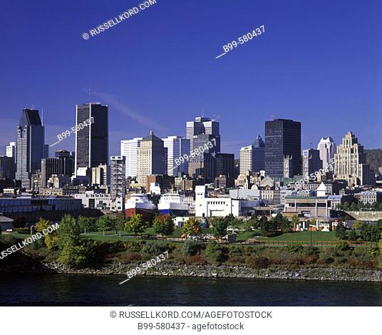 Downtown Skyline, Montreal, Quebec, Canada