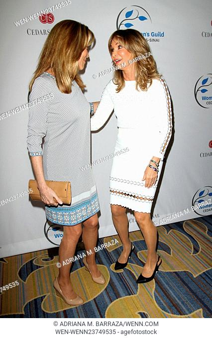 2016 Women's Guild Cedars-Sinai Annual Luncheon held at the Beverly Wilshire Hotel in Beverly Hills Featuring: Vanna White, Jaclyn Smith Where: Los Angeles