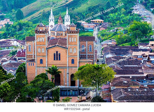 Parish Church of Nuestra Señora de Mercedes, Jerico, Suroeste Antioqueño, Antioquia, Colombia