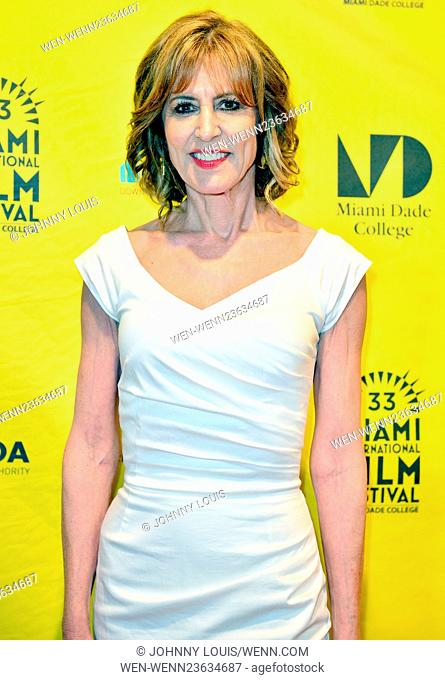 Miami International Film Festival 2016 held at Olympia Theater At Gusman Hall - Closing Ceremony Featuring: Christine Lahti Where: Miami, Florida