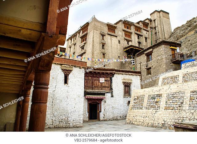 17th century Leh palace entrance (Ladakh, India)