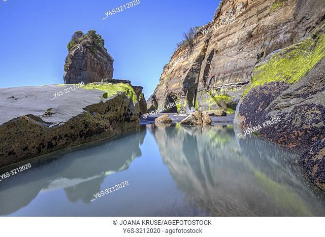 Three Sisters, New Plymouth, Taranaki, North Island, New Zealand