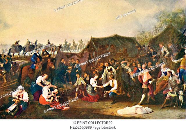 'A Wedding in Camp', c1850, (1903). Artist: Johann Moritz Rugendas