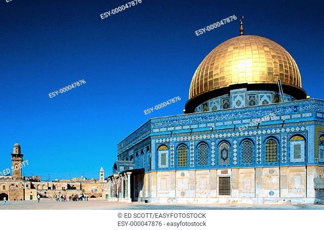 Omar Mosque. Jerusalem. Israel