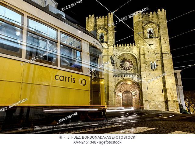 Se Cathedral, Alfama, Lisbon, Portugal