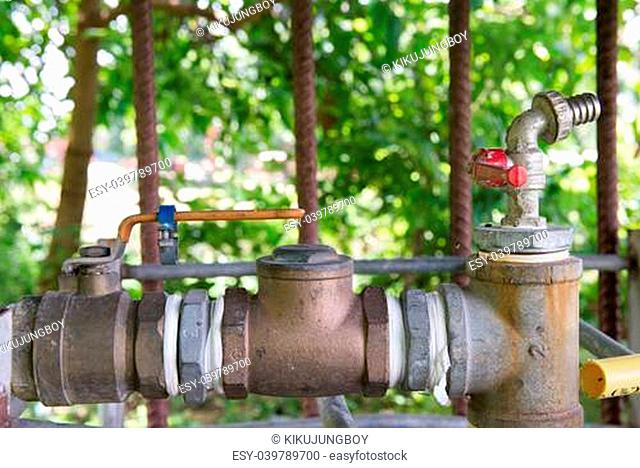 water supplier and valve 3