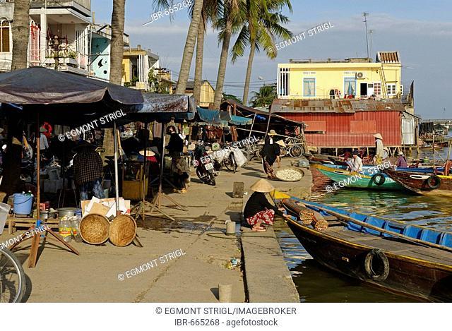 Hoi An harbour, Vietnam