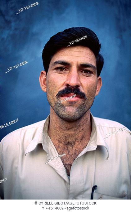 Soldier on permission, Gilgit, Pakistan