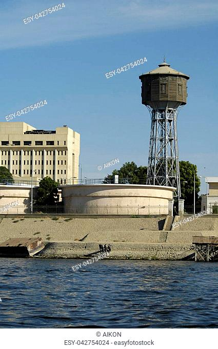 Old rusted water tower Stock Photos and Images | age fotostock
