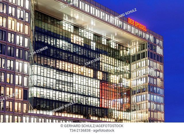 "Office Building of """" Der Spiegel """" Hamburg, Germany"