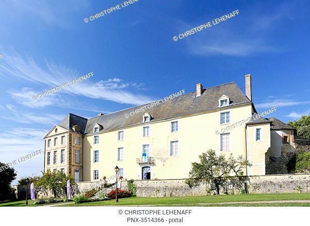 France, Burgundy, Yonne. Saint Sauveur in Puisaye. The Colette Museum