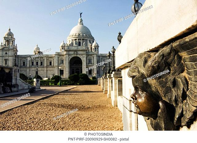 Facade of a museum, Victoria Memorial, Kolkata, West Bengal, India