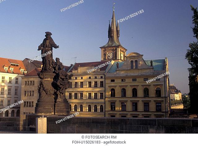Prague, Charles Bridge, Czech Republic, Praha, Central Bohemia