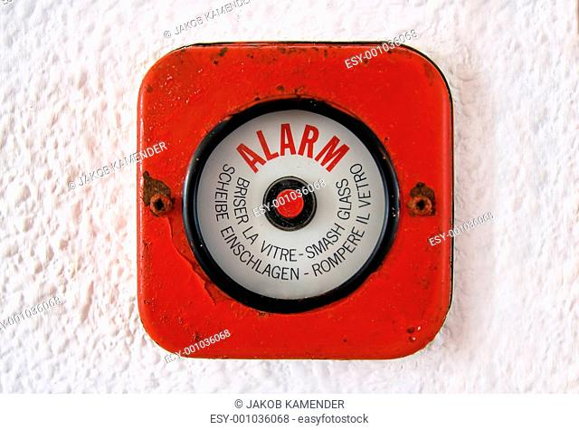 Break Glass - Old Fire Alarm