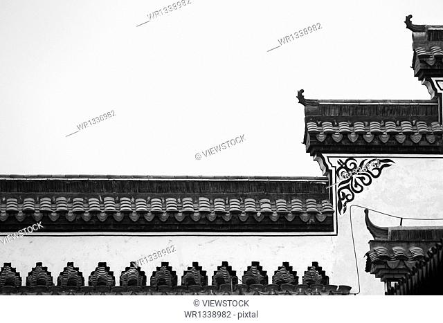 Shandong Taierzhuang ancient building walls