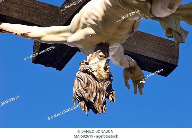 croce del papa, cevo, italy