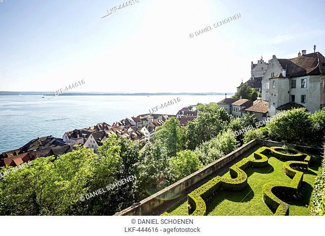 Meersburg castle, old castle, Meersburg, Lake Constance, Baden-Württemberg, Germany