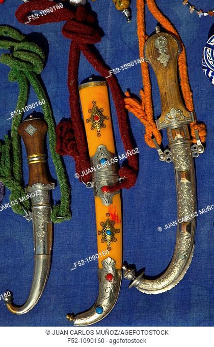 Berber handicrafts, Dades Valley, High Atlas, Morocco