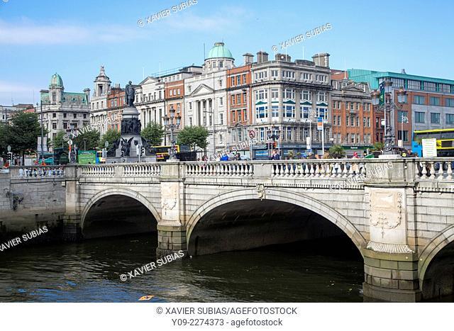 O'Connell Bridge, Dublin, Leinster, Ireland