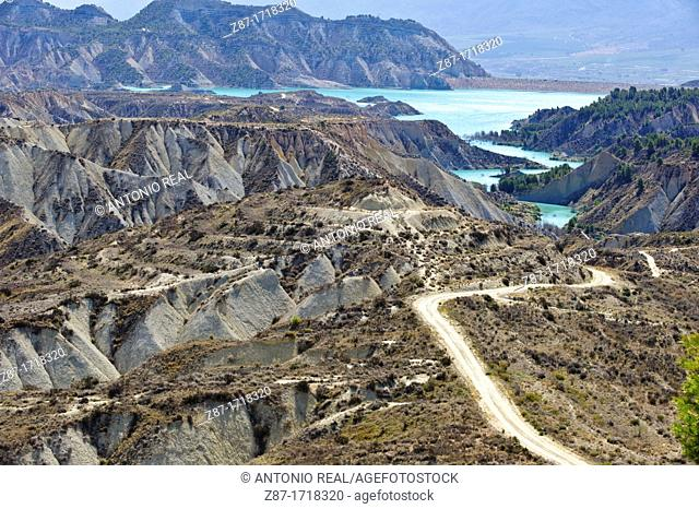 Embalse de Algeciras  Paisaje protegido Barrancos de Gebas  Alhama de Murcia  Murcia